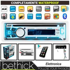 RADIO MP3 USB BOSS MARINE MR762BRGB BLUETOOTH CD MARINO STEREO LED - BARCA VELA