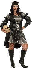 "Women's HALLOWEEN COSTUME ""Lady Blackmoor"" PLUS  16-20 Full Cut 1X Renaissance"