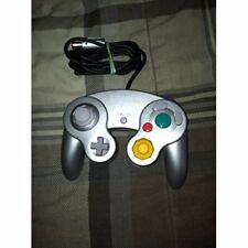 Official OEM Nintendo GameCube And Wii Controller Silver Very Good 2Z