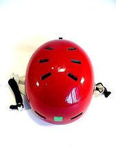 R.E.D.Trace Grom Burton Helmet Ski Snowboard Sports Red Youth M 51-53cm New