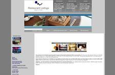 RESTAURANT DIRECTORY WEBSITE + GOOGLE ADSENSE