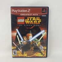 LEGO Star Wars: The Video Game (Sony PlayStation 2, PS2, 2005) Complete Tested