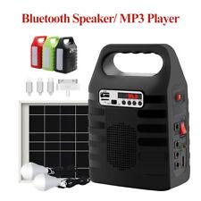 Portable Solar Panel Generator Outdoor indoor Emergency Power Supply Bluetooth