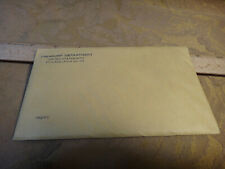 1962 United States Silver Proof Set Sealed Envelope - Free S&H USA