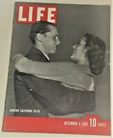 December 4, 1939 LIFE Magazine WWII era FREE SHIPPING Dec. old ads ad 12 article