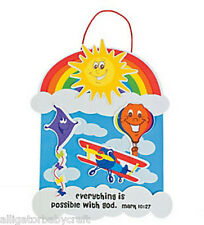 Christian Wall Hanging Craft Kit for Kids VBS Bible School Religious Ed ABCraft