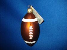 Football Ornament Glass Old World Christmas 44011 9