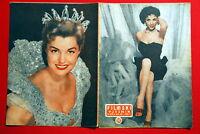 RITA MORENO ON COVER ESTHER WILLIAMS 1956 EXYU MAGAZINE