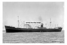 rp15669 - Norwegian Cargo Ship - Titania , built 1937 - photo 6x4