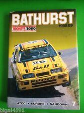 BATHURST 1000 1988 BOOK  LONGHURST JOHNSON BROCK MOFFAT VGC