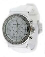 Michael Kors Bel Aire Chronograph Ceramic and Silicone Ladies Watch MK5392