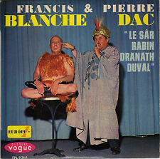 FRANCIS BLANCHE & PIERRE DAC LE SÂR RABINDRANATH DUVAL FRENCH ORIG EP