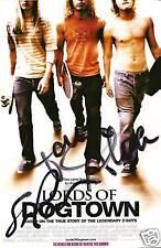 Tony Alva Stacy Peralta signed autograph Skateboarding RARE COA LOOK!
