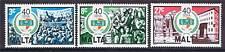 Malta 1983 40th Anniv. de Unión de Trabajadores sg722/4 Mnh