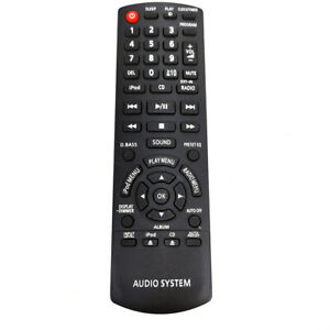 New N2QAYB000640 For Panasonic Audio System Remote Control SC-HC25