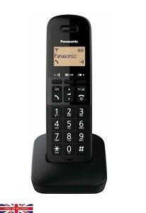 Panasonic KX-TGB610 Digital  Cordless Home Wireless Phone Black Single