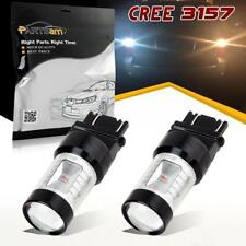 2x 3157 4114 Switchback White/Amber 6-Cree-XBD LED Front Turn Signal Light Bulbs