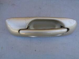 2002 DODGE CARAVAN EXTERIOR REAR DOOR HANDLE LEFT DRIVERLEFT SID SIDE - GOLD OEM