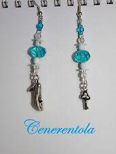 Orecchini Cenerentola Cosplay Scarpette - Earrings Cinderella Shoes Disney