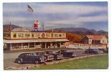Lake Placid NY Sterling Alaska Fur & Game Farms Old Cars Postcard ~ New York