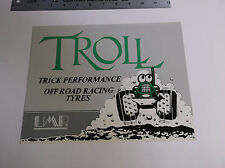 VINTAGE TROLL TRICK  PERFORMANCE OFF ROAD RACING TIRES PAMPHLET  *VG-COND*