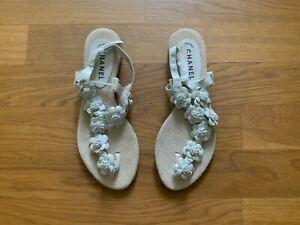 Tolle Chanel Sandalen - Größe 38 - sehr guter Zustand