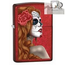 Zippo 28830 day of the dead zombie Lighter with PIPE INSERT PL