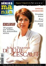 """RARE MAG """"SERIES MANIA"""" N°3 COUVERTURE JULIE LESCAUT VERONIQUE GENEST (1997) TBE"""