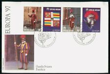 MayfairStamps Vatican 1997 Swiss Guard Europa First Day Cover WWG8587