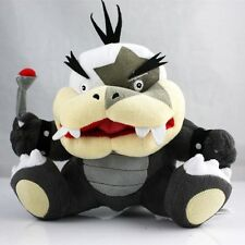 Super Mario Bros. Series Morton Jr. Big Mouth Bowser Koopa Plush Toys