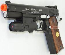 Win Gun Special Combat 1911 Airsoft CO2 Pistol Black W/ Metal Laser