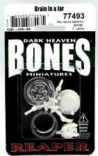 Reaper 77493 Brain in a Jar (Bones) Gothic Horror Fantasy Steampunk Monster Nib