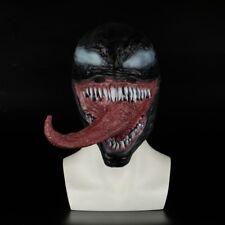 Adult Halloween Rubber Latex Party Venom Mask Head Eddie Brock Full Face Helmet