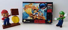 Super Nintendo SNES Spiel - Pinocchio + Anleitung + OVP - NEU NEW
