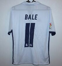 New listingReal Madrid Spain home shirt 16 17  11 Bale Adidas BNWT KIDS  Size - L 4e04a1d91