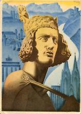 L'ALLEMAGNE Pays du Bon Accueil D'après Affiche de Propagande Reichsausschuss
