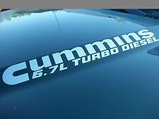 6.7L Cummins Turbo Diesel Hood Engine decals FITS: Dodge Ram 2500 3500 Truck