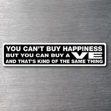 Buy a VE sticker premium 10 year vinyl water/fade proof Holden commadore