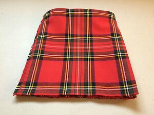 Stewart Royal Tartan Baby Kilt  0-3 m to 2-3 y (Waist & Length Sizes Shown)