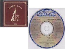 DIANA ROSS Lady Sings the Blues 1992 Original Soundtrack JAPAN Motown CD 70s
