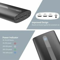 New Power Bank 24000mAh Portable Charger External Battery with 2.1A Input Port