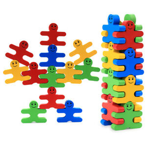 Kids Wooden Toys Building Blocks Balance Game Creative For Baby Children Early