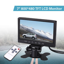 """7"""" TFT LCD Car Monitor with VGA Interface+Remote Control for Car Rearview Camera"""