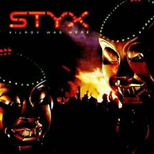 STYX-KILROY WAS HERE-JAPAN CD Ltd/Ed C15
