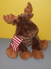 "GUND 22"" Chrsitmas Kris the Moose So Soft Stuffed Animal w/ Poseable Antlers"
