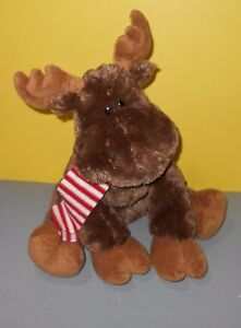 "GUND 22"" Chrsitmas Kris the Moose So Soft Stuffed Animal w/ Poseable Antlers"