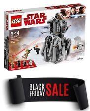 LEGO STAR WARS  LAST JEDI FIRST ORDER HEAVY SCOUT WALKER 75177  BRAND NEW SEALED