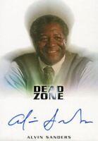 Dead Zone Seasons 1 & 2 Alvin Sanders as Principal Pelson Autograph Card