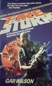 Fire Storm (Super Phoenix Force) - Paperback By Wilson, Jim - GOOD