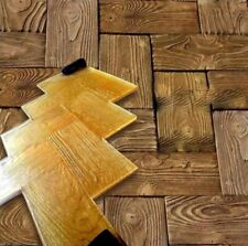 """POLYURETHANE Stamp Mat for printing on concrete cement """"Wooden parquet"""""""